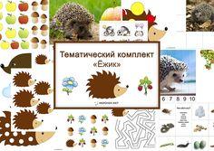 Комплект предназначен для детей от 1,5 лет до 7. Занятие можно проводить с разновозрастными детьми.