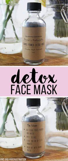 Flower Power Detox Mask – DIY