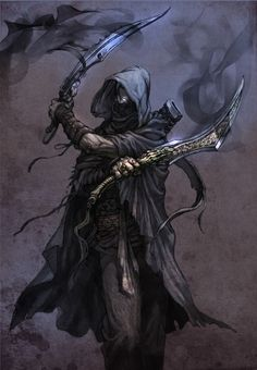Assassin hired by Damphyr Vondrak to kill party. =). Name: Shie ( Shy )