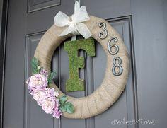 Create.Craft.Love.: Pinspired & Rewired {Wreaths}