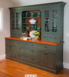 Perfect for the breakfast nook By Crownpoint Cabinetry