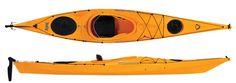 Kayak + paddle