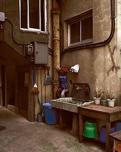 Japanese apartment space 清砂通り同潤会アパート 8