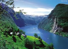 Think of Norway and you think of the outstanding Fjords, carved out during the ice age, offering endless views of deep blue waters guarded by snow-capped mountains and ice-blue glaciers, providing some of the world's most famous and spectacular scenery.