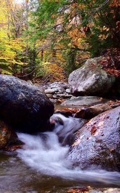 Warren Falls | Travel | Vacation Ideas | Road Trip | Places to Visit | Warren | VT | Swimming Hole | Hiking Area | Waterfall