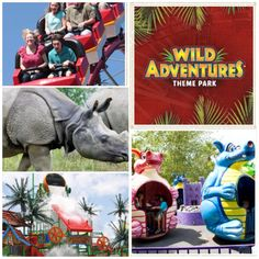 Savor Family fun at Wild Adventures Theme Park in Valdosta, Georgia - Rides for the whole family, Animal Adventures, Thrill Rides, and a Water Park with Cabanas @mundanemagic