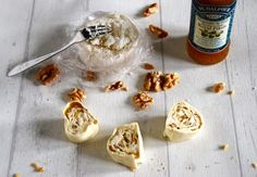 Chèvre, valnöt & fikonsnurror!   Catarina Königs matblogg Tapas, Something Sweet, Food For Thought, Starters, Grilling, Snacks, Food Porn, Good Food, Brunch
