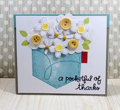 Paper Smooches: A Pocketful of Thanks...