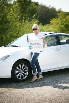 Congrats on earning your Lexus with Nerium, Laura!