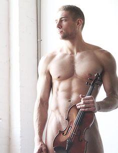 Man Crush: Christopher Marchant    http://www.homorazzi.com/article/christopher-marchant-sexy-violin-player-shirtless-well-strung-gay-man-crush/