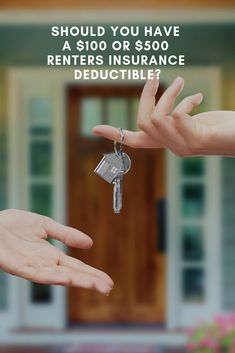 Your renters insurance deductible can impact your premium costs. We take a look at whether it's worth it to raise or lower your renters insurance deductible. Renters Insurance Quotes, Flood Insurance, Deduction, Learning Centers, Being A Landlord, Tips, Counseling