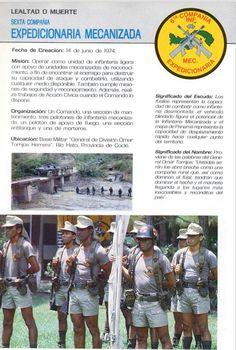 6ta Compañía Expedicionaria Mecanizada, FFDD de Panamá, 1987.