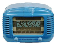 Blue Astor Mickey Bakelite Radio