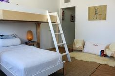 the boo and the boy: bunk beds - ladder style