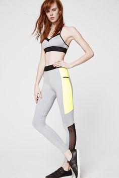 Fei Fei Legging - These anything-but-basic leggings feature a slit pocket for your phone and mesh inserts that let your legs breathe during high-intensity workouts.