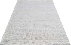 Hand Woven Felted Wool Braided Rug - Link1003 - Ivory White - Rugs Of Beauty - 1