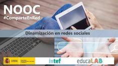 NOOC_INTEF 'Dinamización en Redes Sociales'  #ComparteEnRed