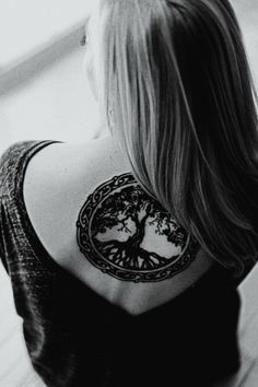 stunningly beautiful tree of life tattoo