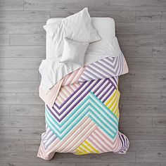 Ahmaze Pastel Bedding  | The Land of Nod