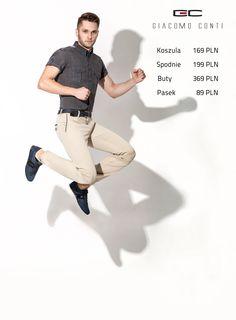 Stylizacja Giacomo Conti: Koszula MATTEO 15/03/25-K, spodnie ABRAMO 15/43 T, Buty GSP-111.