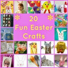 20 Fun Easter Crafts To Do With Kids - Woman of Many Roles hoppyeaster Easter Activities, Holiday Activities, Craft Activities, Holiday Crafts, Holiday Fun, Holiday Baking, Christmas Holiday, Easter 2014, Spring Crafts For Kids