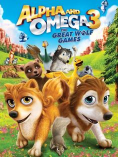 Alpha and Omega 3: The Great Wolf Games - #movies