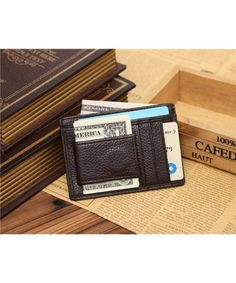 Buy Wallet-Business Luxury Mens Slim Credit Card Holder Mini Wallet Id Case Purse Bag Pouch - Brown - and Get More Latest Men's Wallets Enjoy Up to off. Buy Wallet, Wallet With Coin Pocket, Coin Purse Wallet, Pouch, Leather Money Clip Wallet, Leather Wallet, Gucci, Cowhide Leather, Pink