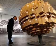 this would make a great exhibit interactive/display IISG Amsterdam - Archive Boxes