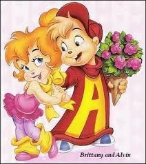 Alvin y Britanny Arte Disney, Disney Art, Vintage Cartoon, Cartoon Art, Alvin And Chipmunks Movie, Baby Cartoon Characters, The Chipettes, Turner Classic Movies, Childhood Movies