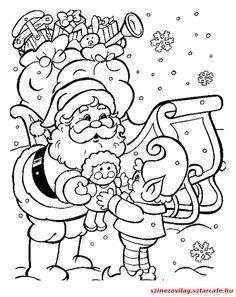 Weihnachten malvorlagen Christmas coloring pages Santa Coloring Pages, Christmas Coloring Sheets, Printable Christmas Coloring Pages, Free Christmas Printables, Coloring Pages To Print, Coloring For Kids, Coloring Pages For Kids, Coloring Books, Free Printables