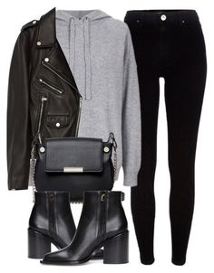 """""""Untitled #6167"""" by laurenmboot ❤ liked on Polyvore featuring River Island, Topshop, Jakke, French Connection and Marni"""