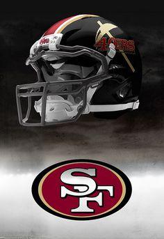 Possible San Francisco 49er helmet