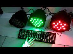 LED PAR64 RGBW 162W  Καινούργια LED προβολέας RGBW 54X3W  Xρώματα: ΑΣΠΡΟ - ΨΥΧΡΟ / ΠΡΑΣΣΙΝΟ / ΚΟΚΚΙΝΟ / ΜΠΛΕ Πολύ δυνατά, με ποιοτική κατασκευή.  Δυνατότητα αυτόνομων προγραμμάτων-strobe.  Ψηφιακό καντράν.  Λειτουργία με μουσική.  Λειτουργία σύνδεσ Light Background Images, Mixer, Online Shopping, Table Lamp, Space, Youtube, Home Decor, Tes, Floor Space