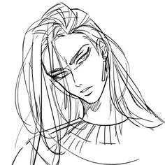 Manhwa, Boy Drawing, Egyptian Mythology, Egypt Art, Handsome Anime Guys, Hot Anime Boy, Amazing Drawings, Boy Art, Character Design References