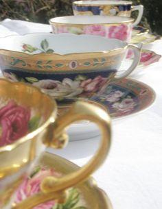 Beautiful fine porcelain cups