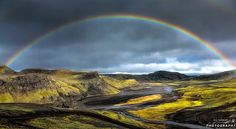 Photograph rainbow of Iceland by Urs Schmidli on 500px