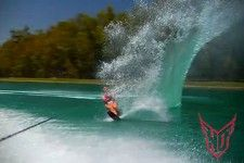 Single Waterski!! Used to do this every weekend and holiday, back in the day!! Miss it!!!