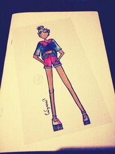Daily clothes design