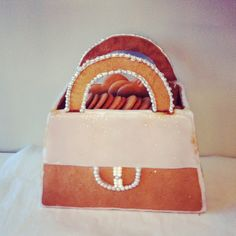 Gingerbread purse