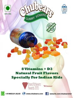 You give a #vitamin, They grab a #delight..!!  #Chubears #GapcoHealthcare #Chandigarh #Mohali #India
