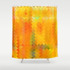 Re-Created  Flying Carpet V Shower Curtain by Robert S. Lee - $68.00