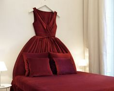 Would love to have this bed! Maison Moschino: Fashionable Fantasy Accommodations In Italy