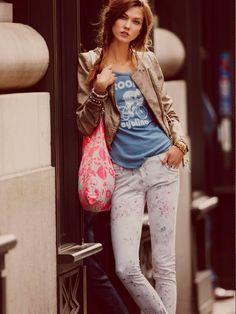 Karlie Kloss | Free People January 2012 Season Campaign VI
