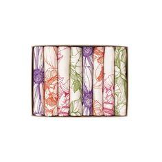 abigail*ryan Boxed Gift Set of 8 hand-illustrated Napkins...