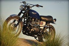 Triumph Scrambler by Mule Motorcycles