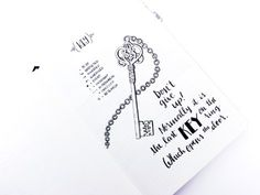 Serry Little Notes: Key. The Comic Bullet Journal – Bullet Journal®
