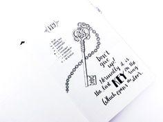 Serry Little Notes: Key. The Comic Bullet Journal – Bullet Journal®