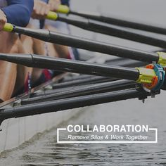 If your team is in the same boat but not rowing together then they're *not* collaborating.  This means they're going is circles or, worse yet, going the wrong way. Trust me, you don't want to be the captain of that boat. Get the 'Listening' Guide + 'Team Training' Guide with this course to get your team working together.