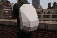 About a year ago, it was really cool for young kids to wear the turtle shell backpacks designed to make the kid feel like a Ninja Turtle. But now it's time to grow up. This is the future of backpacks. Solid Gray backpacks are dutch designed. They're tough, lean, and smart.