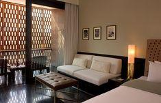 Chic Room at the Raas Jodhpur Luxury #Hotels #India   #cushions #interiors